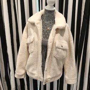 White borg jacket